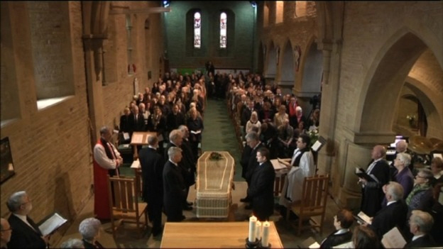 Alan Greaves Funeral 3