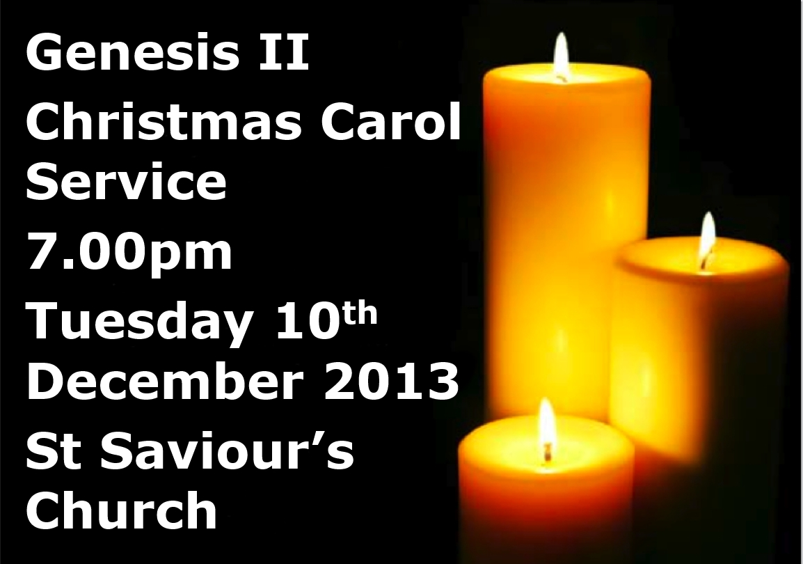 Genesis II Christmas Poster 2013