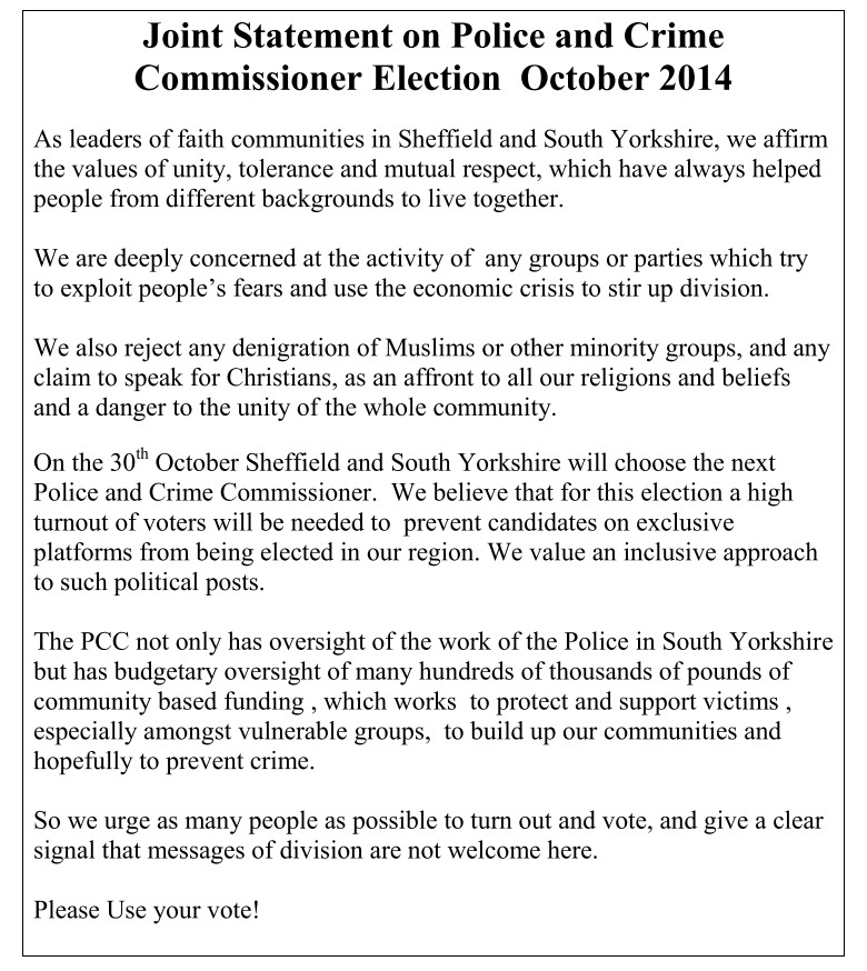 PCC Elections 2014