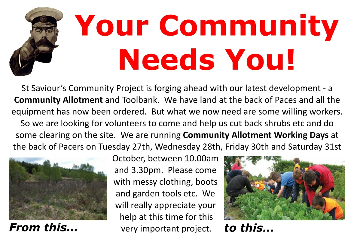 SSCP Allotment Help Poster 2015