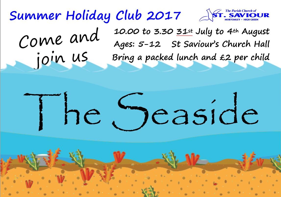 Summer Holiday Club 2017
