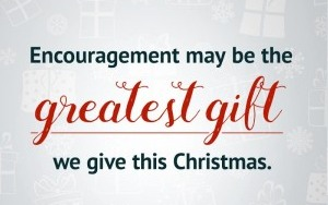 Encouragement Christmas