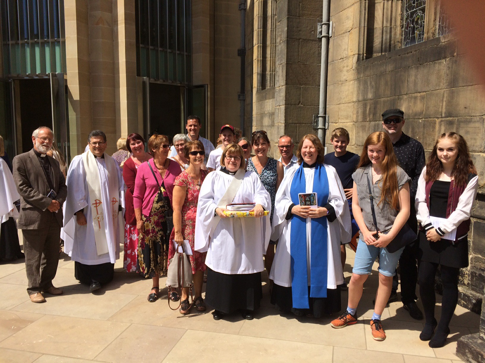 Claire Williams ordination 1