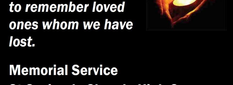 SSC Memorial Service